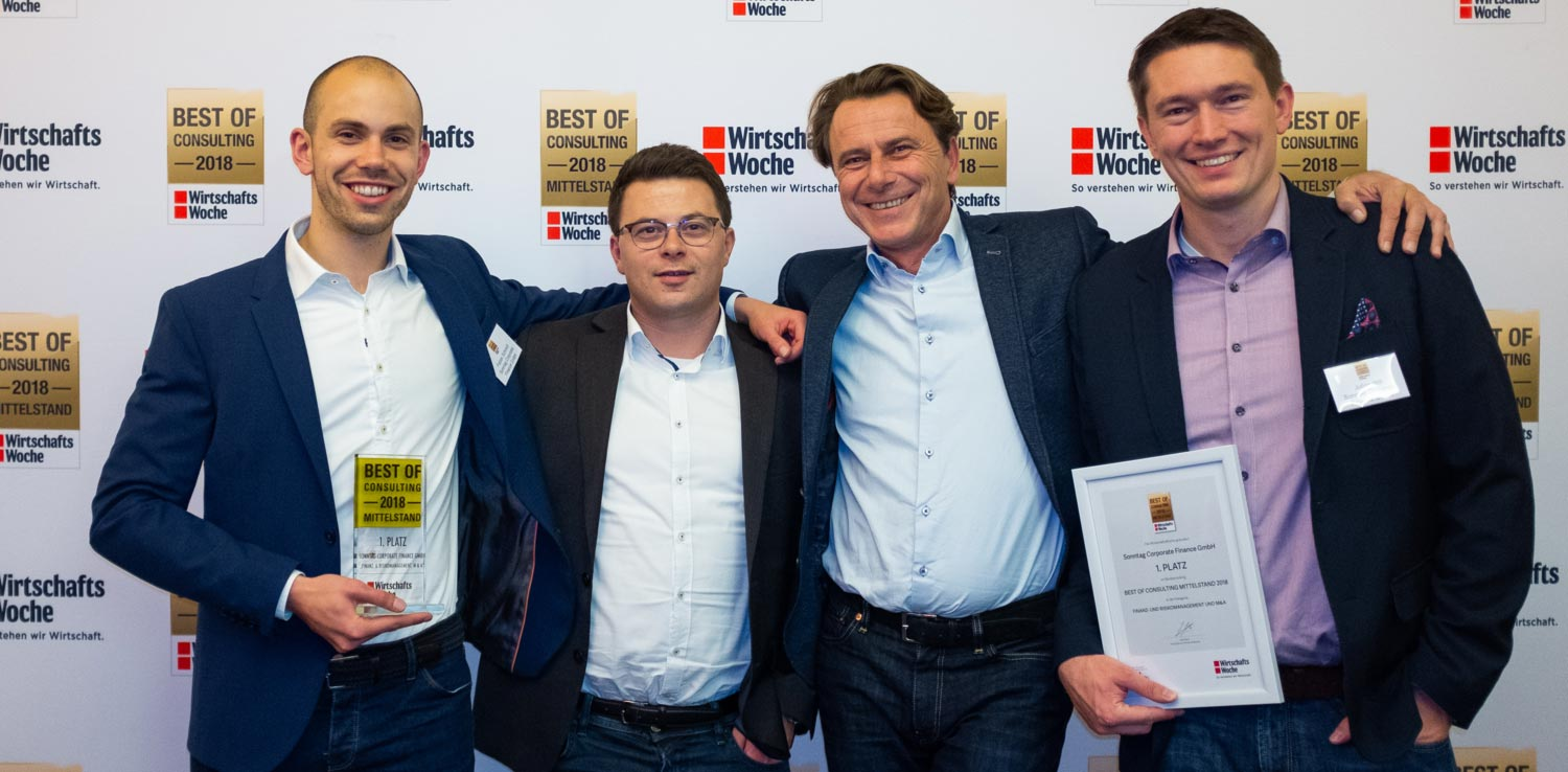 1. Platz - Sonntag Corporate Finance