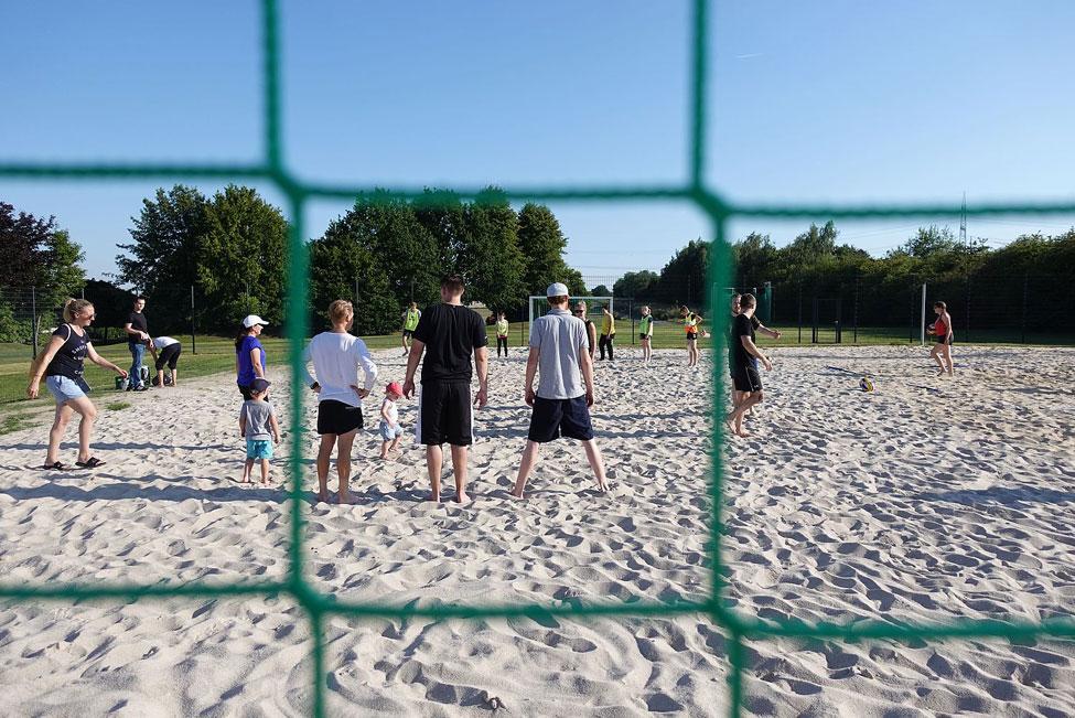 Teambuilding SCF Fussball